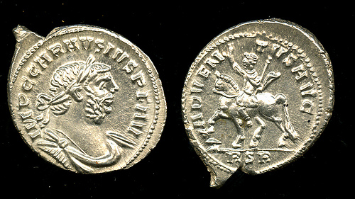 Denarius from the Frome Hoard