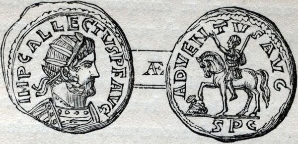 Roman coin - Allectus Adventus