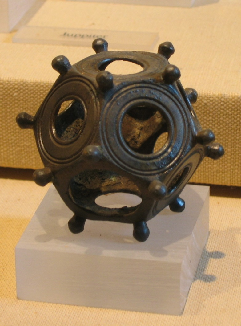 Roman dodecahedron - mystery metal detecting finds