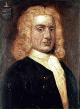 Portrait of Captain William Kidd, captain kidd's treasure found in Madagascar?